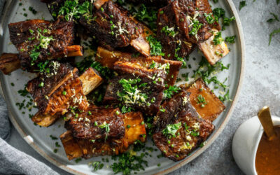 ITALIAN-STYLE GRASS-FED BRAISED BONELESS SHORT RIBS