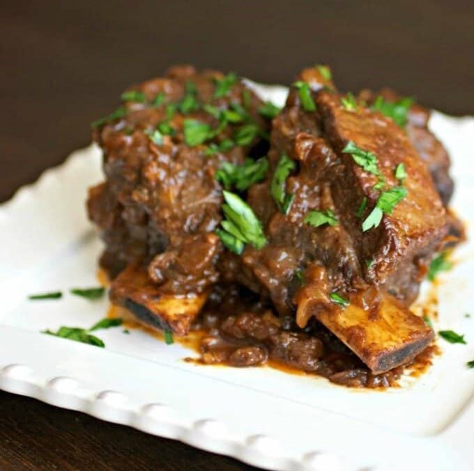 GRASS-FED BRAISED BONELESS SHORT RIBS