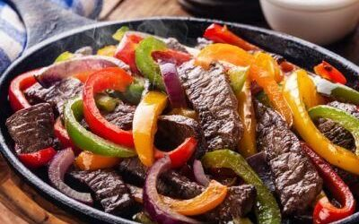 GRASS-FED BEEF FAJITAS