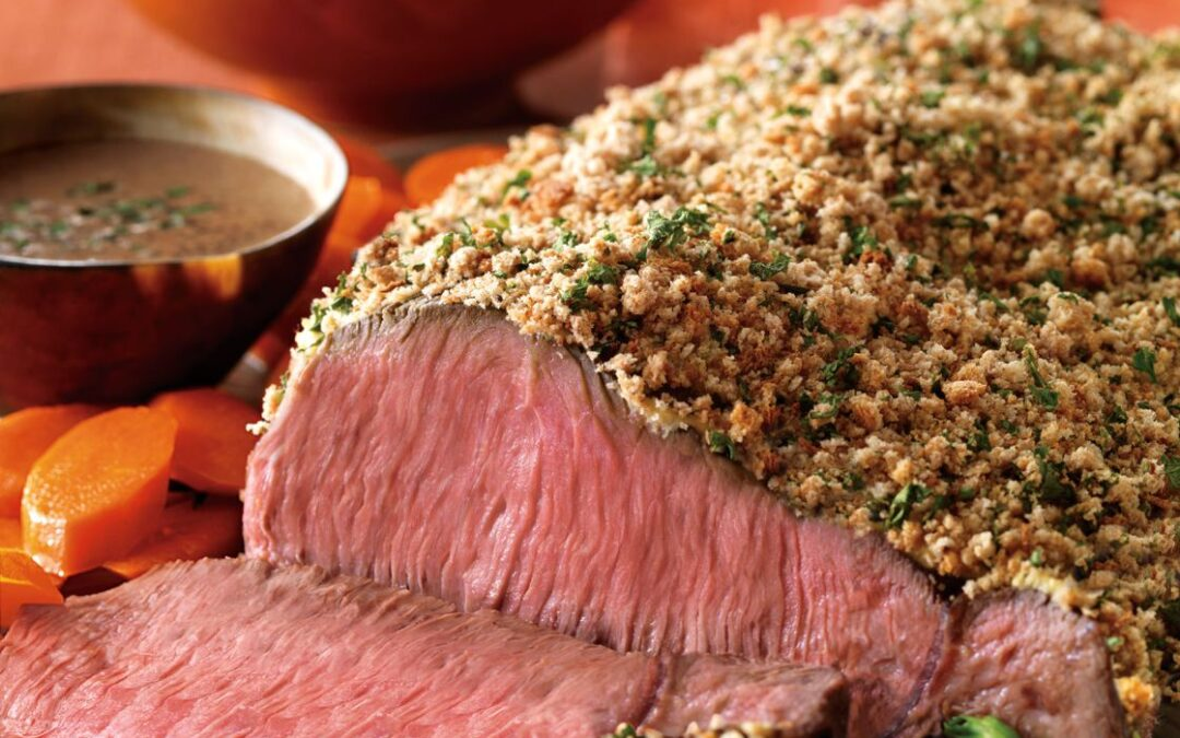 GARLIC-HERB & BOURBON STEAK