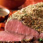 Garlic Herb Bourbon Sirloin Steak